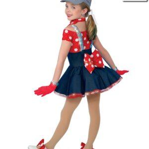 10096N  Choo Choo Ch Boogie Jazz Tap Character Dress Back