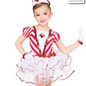 11440  Sequin Nurse Character Dance Costume A