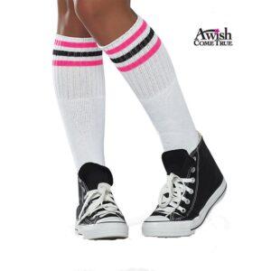 Striped Athletic Socks