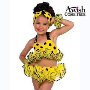 Yellow Polka Dot Bikini