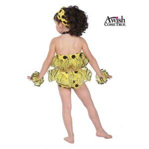 Yellow Polka Dot Bikini 2