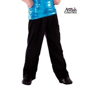 Matte Lycra Pleated Pants