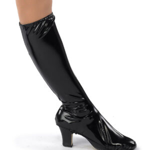 13908B  Spacelab Vinyl Boot Covers Dance Costume Accessory