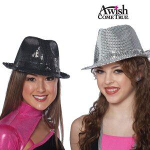 Sequin Fedora Hat