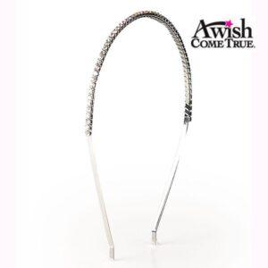 Single Row Rhinestone Headband