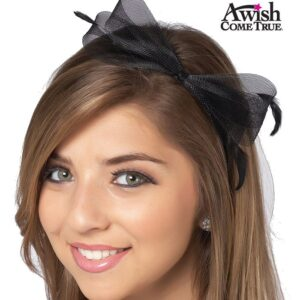 Tulle And Feather Headband 2