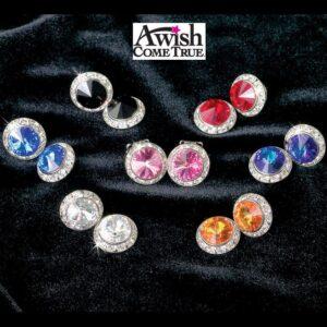 15mm Gemstone Round Earrings