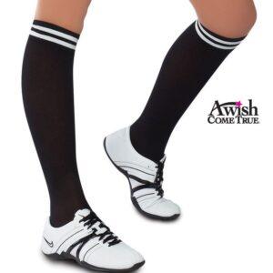 Nylon Striped Socks
