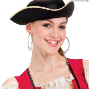 15652H  Pirate Hat Dance Costume Accessory