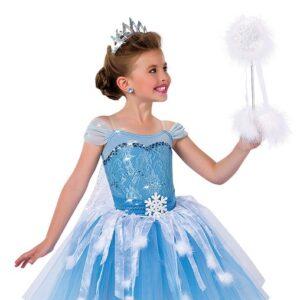 15900 ND  Elsa Christmas Themed Sequin Ballet Tutu