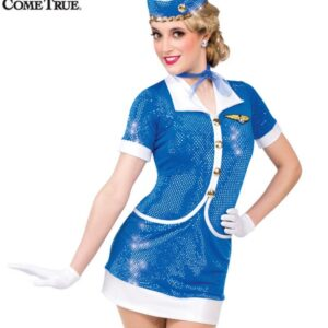 16143  A Jet Set Character Themed Dance Costume