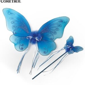16144 A 58 2020 Wing And Wand Set 2020 Dance Costume Accessory 2020 Turquoise