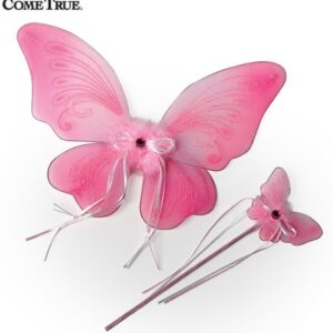 16144 A  A 2020 Wing And Wand Set 2020 Dance Costume Accessory 2020 Pink
