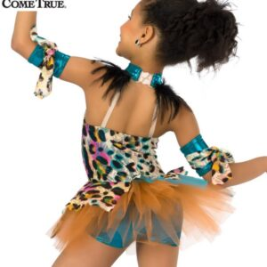 16308 C Circle Of Life Character Themed Dance Costume Back