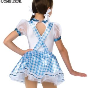 16337 B Ease On Down The Road Dorothy Character Themed Dance Costume Back