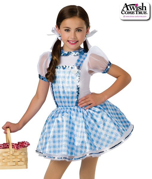 16337  Dorothy Character Themed Dance Costume A