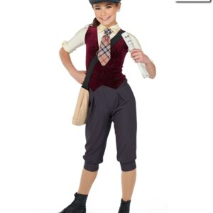 17520R  Extra Extra Newsies Themed Performance Dance Costume