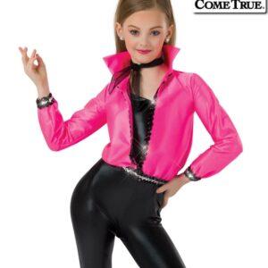 17550J  I Got Chills Jacket Grease Inspired Dance Costume