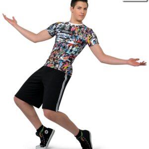 18059  Issues Guy Dance Top Hip Hop Street