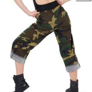 18901P  Loyalty Hip Hop Street Dance Pants Back