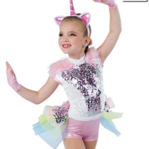 18927 ND  Last Unicorn Character Themed Performance Dance Costume