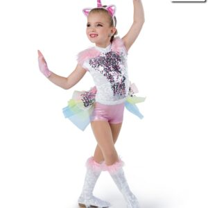 18927 ND  Last Unicorn Character Themed Performance Dance Costume A