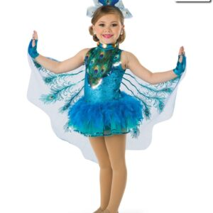 19076  Shake A Tail Feather Kids Character Costume