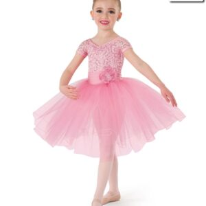 19080  One Small Thing Kids Ballet Costume Pink