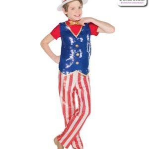 19115  Boys Sequin Yankee Boys Dance Top