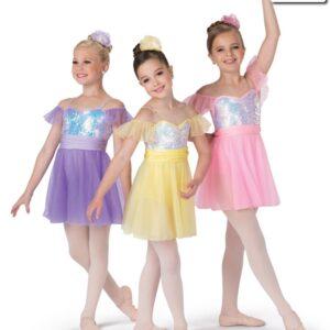 19129  Castles Kids Ballet Costume