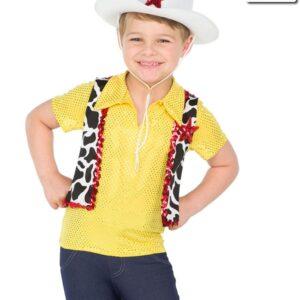 19133  We Belong Together Guy Shirt Boys Character Dance Top