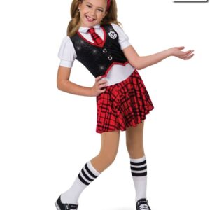 19168  Schools Out Hip Hop Street Dance Costume Red