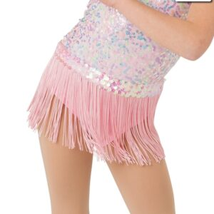 20369F  Sweet And Sassy Jazz Dance Fringe Skirt