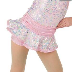 20369HP  Sweet And Sassy Foil Lycra Jazz Dance Hot Pants