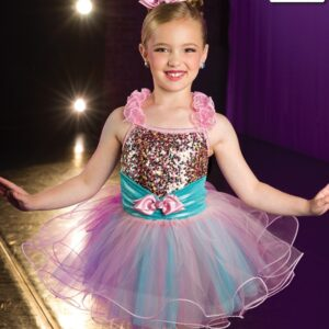 20409 1000 Years Mini Sequin Kids Performance Ballet Tutu