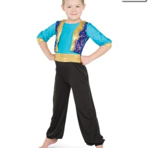 20416  Three Wishes Guys Alladin Themed Dance Costume