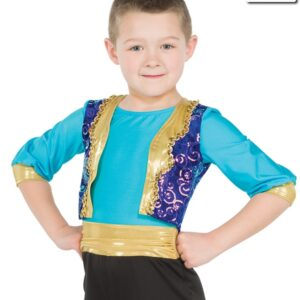 20416  Three Wishes Guys Alladin Themed Dance Costume A