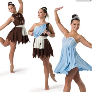 20445  Rags To Riches Oliver Themed Convertible Dance Costume
