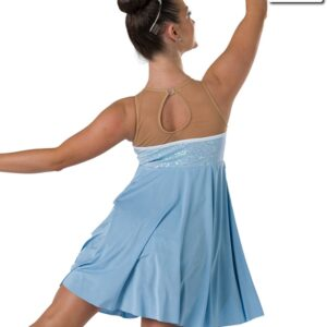 20445  Rags To Riches Oliver Themed Convertible Dance Costume Back