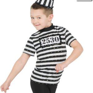 20447  Doing Time Guys Jail Themed Performance Dance Costume