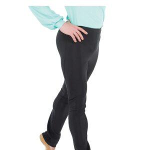 20484  Mens Skinny Fit Dance Pants Black