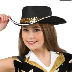 20514H  Lone Star Cowboy Hat Dance Costume Accessory