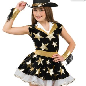 20514  Lone Star Cowgirl Themed Performance Dance Costume