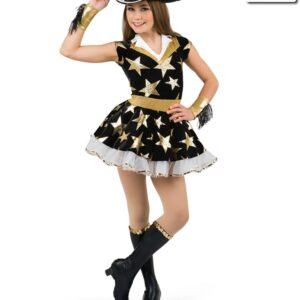 20514  Lone Star Cowgirl Themed Performance Dance Costume A