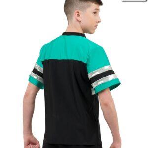 20526  Misdemeanor Guy Large Pailette Sequin Hip Hop Dance Shirt Back