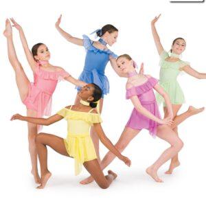 20594  You Are The Reason Spandex Mesh Contemporary Dance Costume