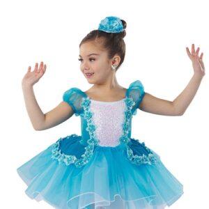 21632  Bluebird Kids Velvet And Sequin Performance Ballet Tutu A