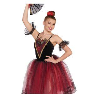 21637  Quiterias Variation Spanish Inspired Performance Ballet Tutu A