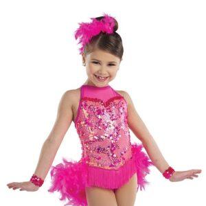 21639  Lets Get Loud Glitz Sequin Kids Tap Jazz Dance Costume