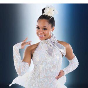 21640  Thats Life Iridescent Sequin Swirl Jazz Tap Dance Costume